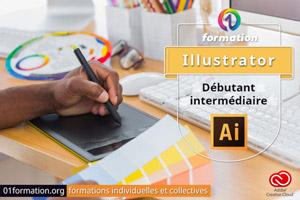 01Formation : formation Adobe Creative Cloud Illustrator niveau débutant et intermédiaire