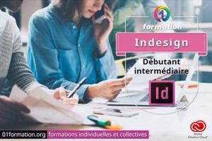 01Formation : formation Adobe Creative Cloud InDesign niveau débutant et intermédiaire
