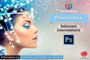 01Formation : formation Adobe Creative Cloud Photoshop niveau débutant et intermédiaire
