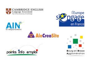 Image illustrant les partenaires locaux et européens de Novacap Formation