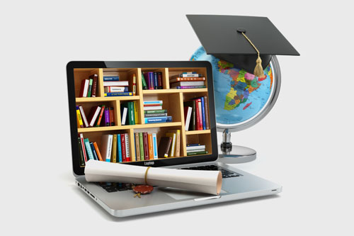 e-learning l'enseignement à distance pour optenir et préparer ses diplomes avec un ordinateur