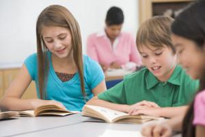 Image d'un soutien scolaire en étude encadrée