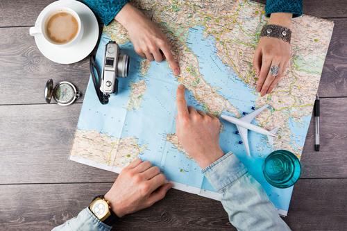 Image d'une carte illustrant l'impérieuse nécessité d'avoir une formation linguistique pour voyager