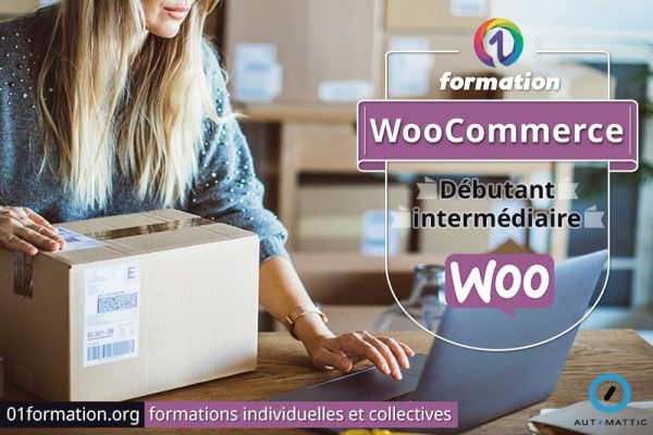 Image illustrant les formations WooCommerce par 01formation.org
