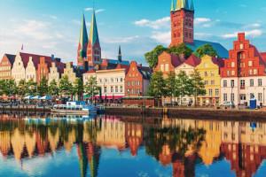Image de la ville de Hambourg et de son fleuve
