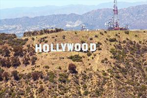 Image de la célèbre ville de Hollywood