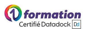 Logo de 01formation, offre de formations certifiée Datadock