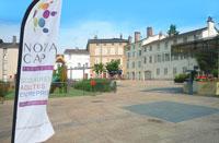 Photographie de la place des Bons Enfants à Bourg-en-Bresse