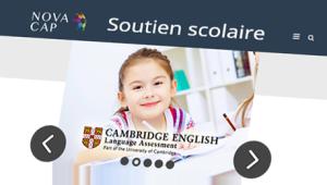 Image du soutien scolaire sur une tablette